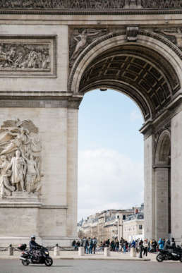 Photo of the Arc De Triumph in Paris, France