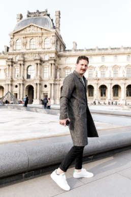 Photo of Perry Tusler in Paris, France