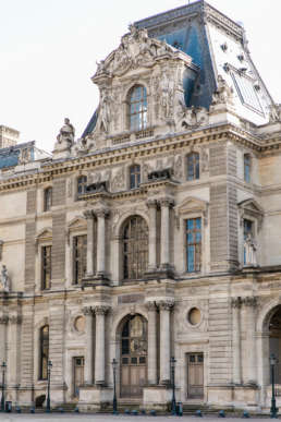 Photo of the Louvre in Paris, France