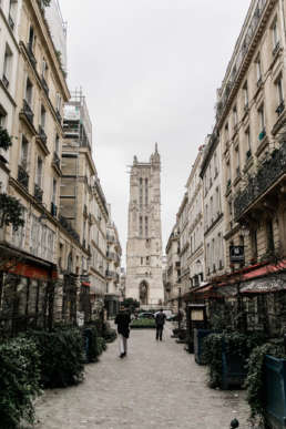 Photo of the streets of Paris, France