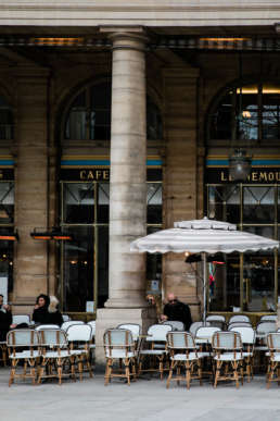 Photo of an outdoor cafe in Paris, France