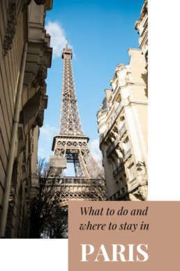 what to do and where to stay in Paris