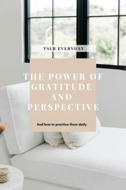 the power of gratitude and perspective